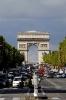 Champs-Élysées and Victoria Tower Paris - France