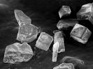 Salt cystals