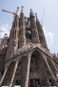 La Sagrada Familia - Barcelona-Spain